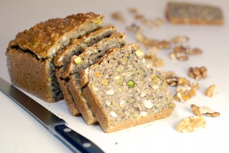Gluten-Free Nutty Bread