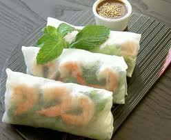 Vietnamese Spring Rolls & dip