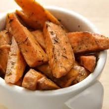 Sweet Potato wedges / Parsnip Wedges