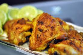 Grilled Turmeric and Lemon Chicken