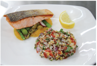 Super Salmon & Quinoa – by David Gillick