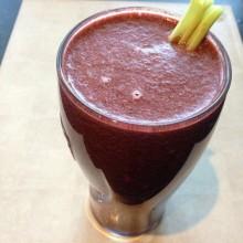Cucumber, Celery & Berry Juice