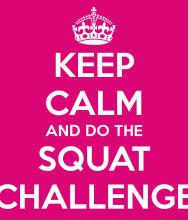 20 DAY SQUAT CHALLENGE NOV 2015